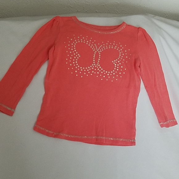 jumping beans Other - Sequined long sleeve shirt